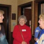 Marilyn Weiland, LuAnne Thompson, and Judy Raether