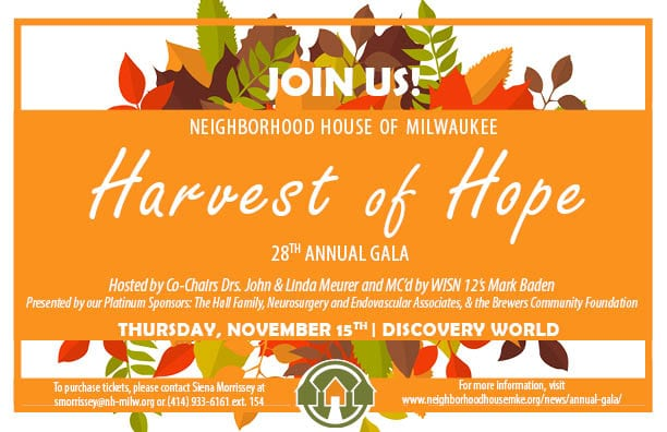 An Exciting Night and Wonderful Success- Annual Harvest of